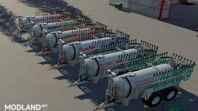 Drag hose slurry tank set galvanized 16m v 1.0, 2 photo